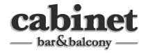 Cabinet Bar and Balcony